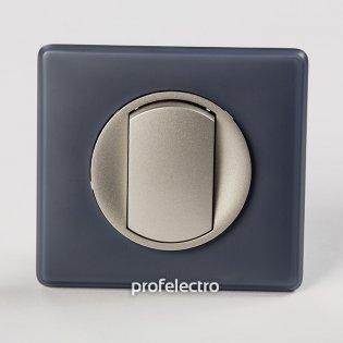 Рамка цвет фиолетовая перкаль-панель титан Celiane Legrand на profelectro.com.ua