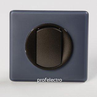 Рамка цвет фиолетовая перкаль-панель графит Celiane Legrand на profelectro.com.ua