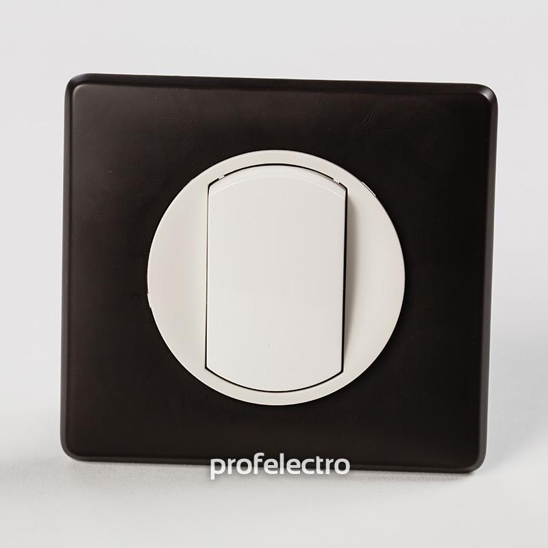 Рамка цвет черная перкаль-панель белая Celiane