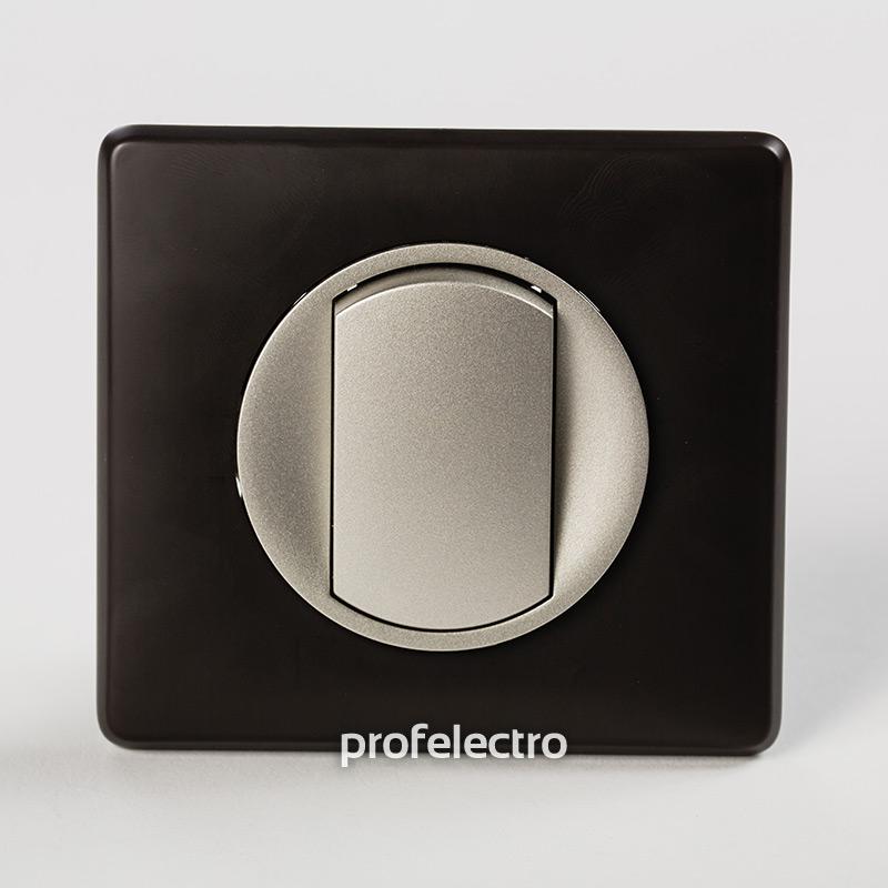 Рамка цвет черная перкаль-панель титан Celiane