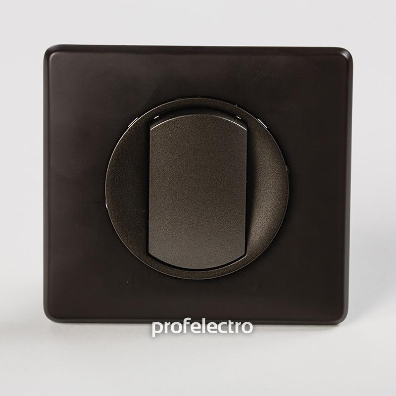 Рамка цвет черная перкаль-панель графит Celiane