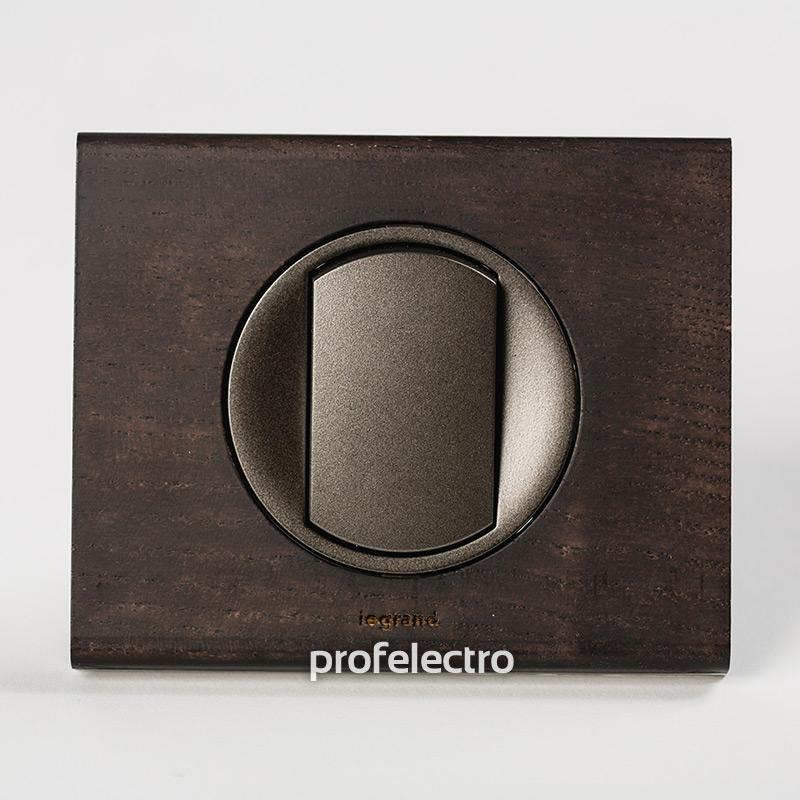 Рамка деревянная венге-панель графит Celiane