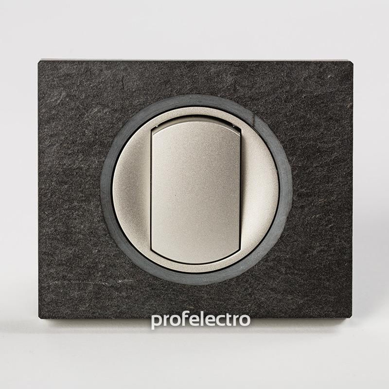 Рамка камень ардезия-панель титан Celiane