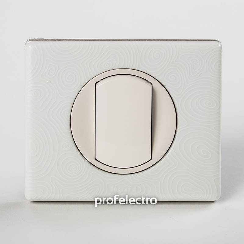 Рамка фарфор цвет белая феерия-панель белая Celiane