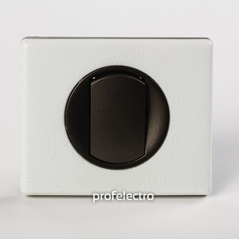 Рамка фарфор цвет белая феерия-панель графит Celiane