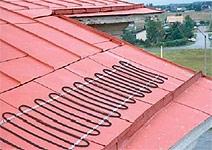 Нагревательный кабель DEVI для систем стаивания снега с крыш
