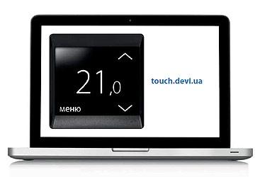 """Управление системой """"теплый пол"""" на веб-сайте touch.devi.ua"""