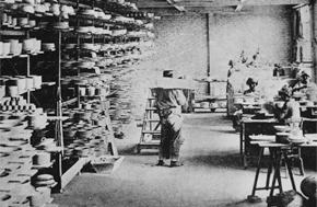 Порцеляновое производство Legrand, 1865