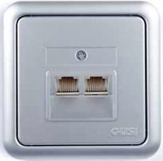 Розетка телефонная Gusi Electric City цвет Матовое серебро
