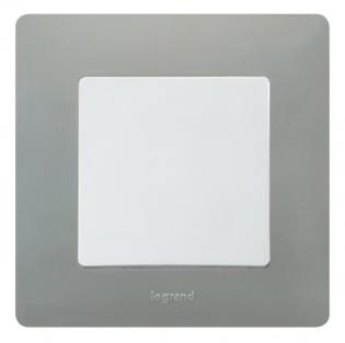 Фото Рамка выключателя Legrand Etika, цвет светлая галька