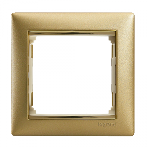 Рамка Legrand «Матовое Золото» (арт. 770301)