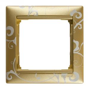 Рамка Legrand «Золото Барокко» (арт. 770020)