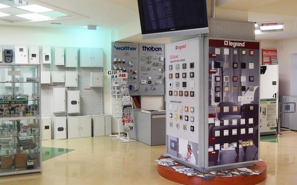 Торговый зал магазина электротоваров Profelectro