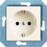 Розетка с заземляющим контактом и защитными шторками для защиты детей 16 А, 250 В~