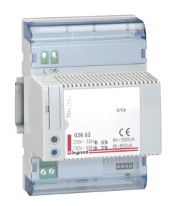 Светорегулятор 60 – 400 ВА, 4 модуля DIN