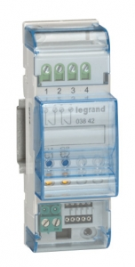 Фото Интерфейс для подключения контактных устройств для установки в распределительные щиты