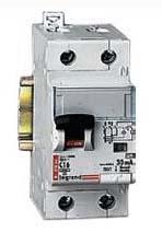 Фото Дифференциальные автоматические выключатели двухполюсные (1+N) Legrand DX3 тип С