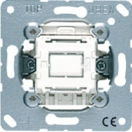 Фото Выключатель кнопка одноклавишный промежуточный (крестовой) 10 А, 250 В~