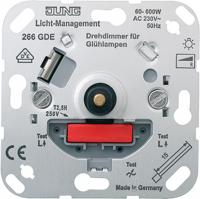 Светорегулятор поворотно-нажимной 60-600Вт