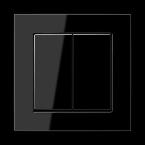 Фото Выключатель двухклавишный