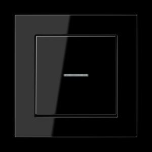 Фото Одноклавишный выключатель с подсветкой