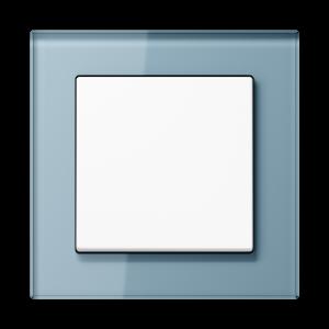 Фото Рамки стеклянные цвет серо-голубой 1—5 постов