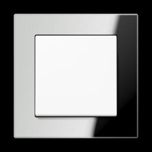 Фото Рамки стеклянные цвет серебро (зеркало) 1—5 постов