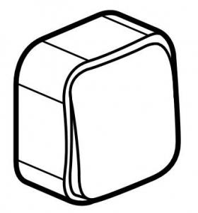 Фото Выключатель одноклавишный однотактный (кнопка) 6 А, 250 В~