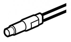 Фото Лампочка для подсветки / индикации светодиодная (цвет белый)
