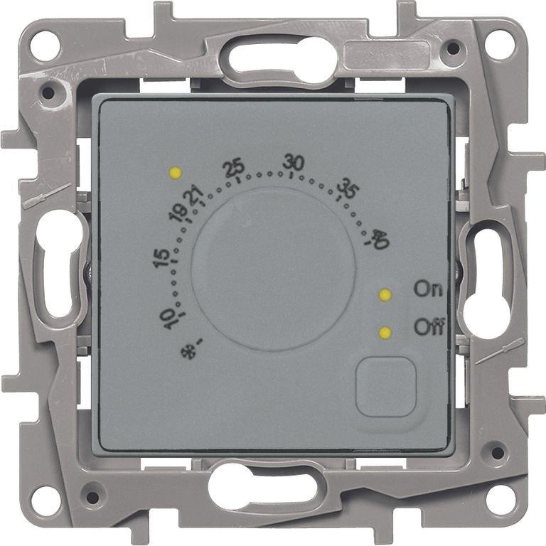 Терморегулятор для систем Теплый пол алюминий Etika