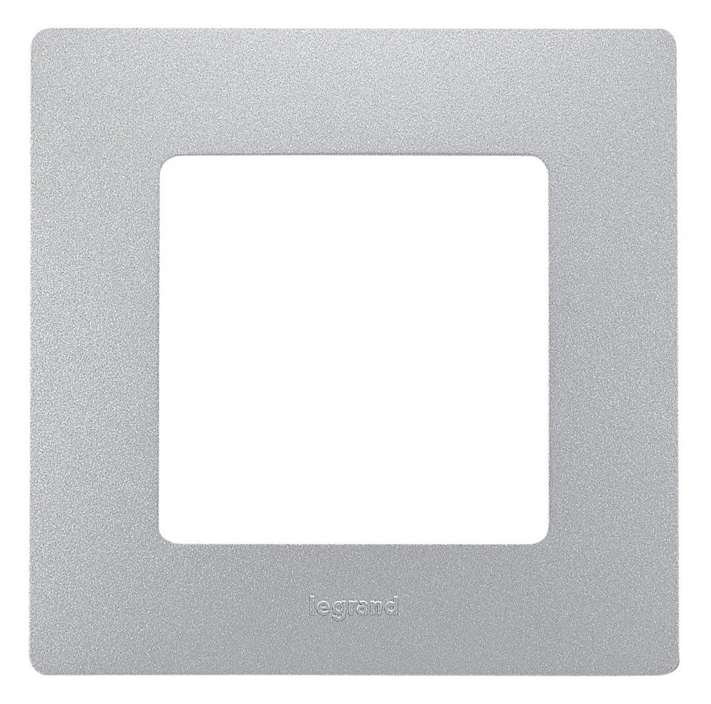 Рамки цвет алюминий 1-5 постов Etika