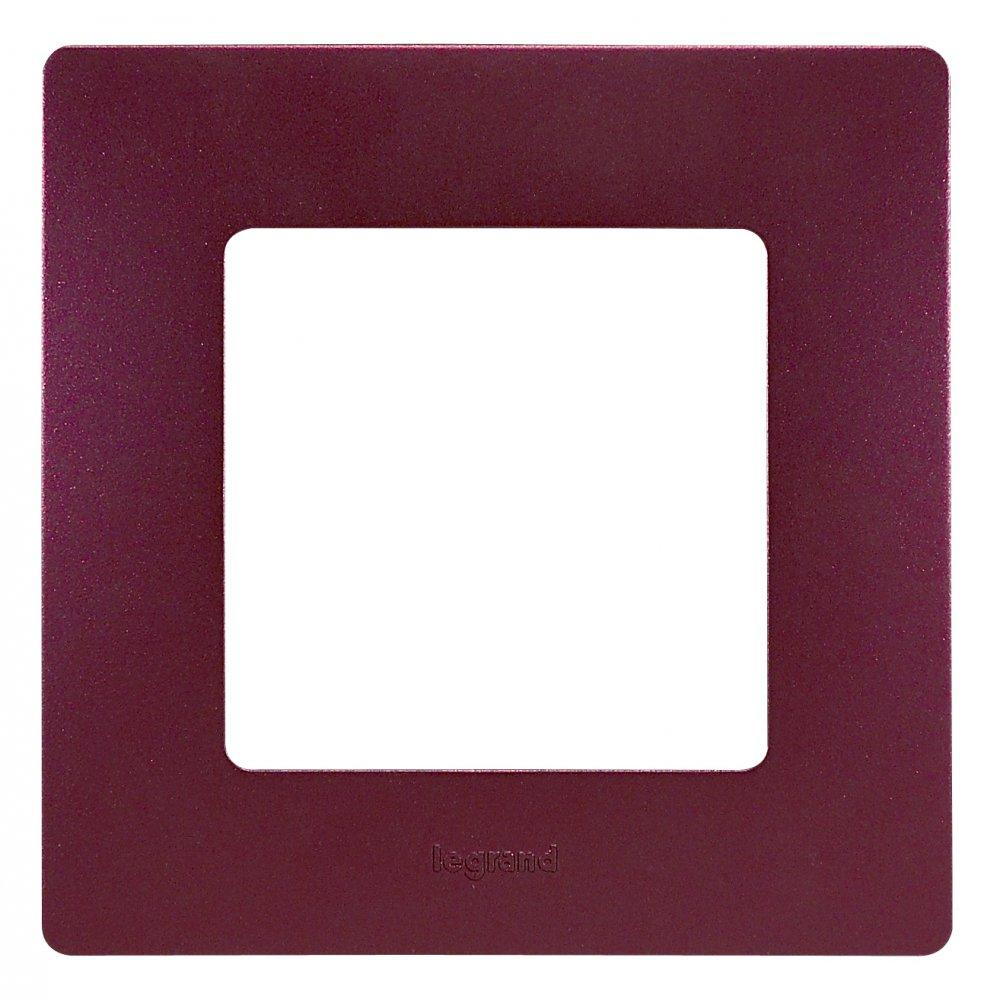 Рамки цвет сливовый 1-5 постов Etika