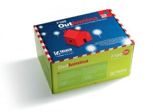 Набор беспроводного управления уличным освещением Outlumina F100