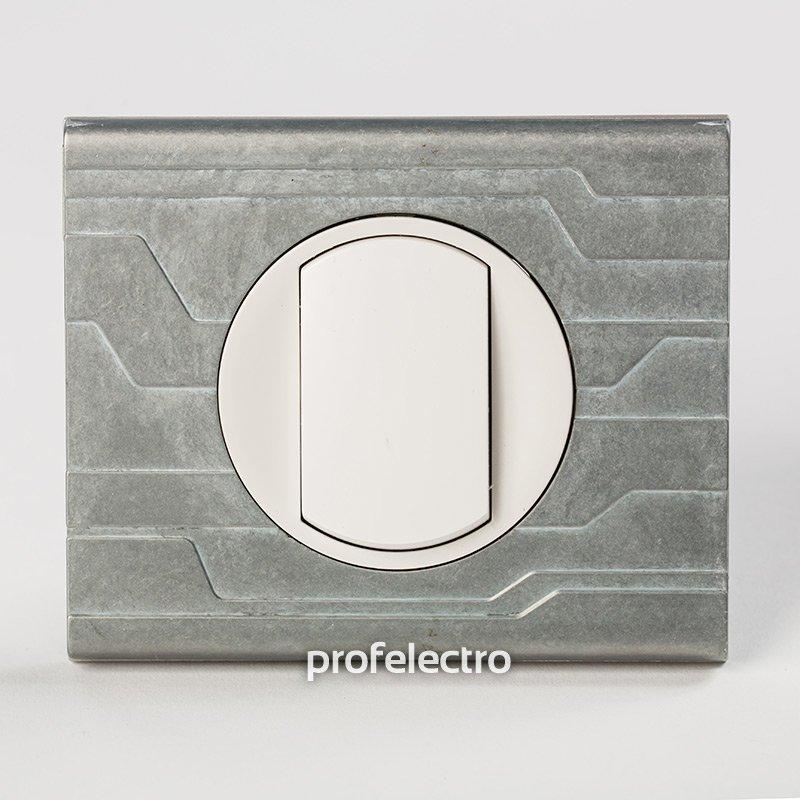 Фото Рамки металлические орнамент техно 1—4 поста Celiane Legrand