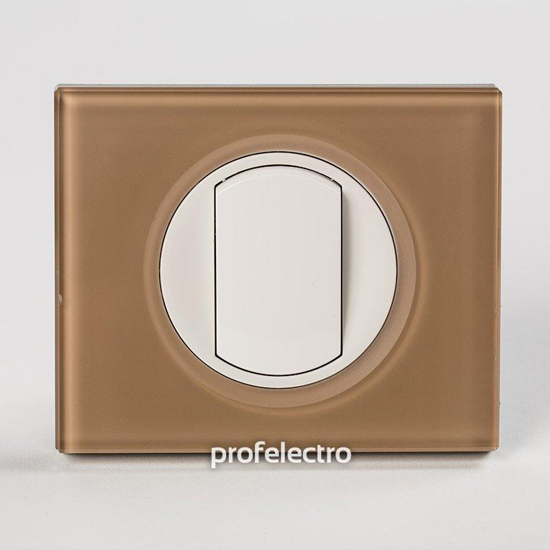 Рамки стеклянные цвет смальта мокка 1-4 поста Celiane