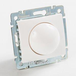 Светорегулятор поворотный белый Valena