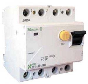 Акционная распродажа складских остатков устройств защитного отключения Moeller