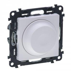 Фото Светорегулятор поворотный 5-300Вт, LED 5-75Вт