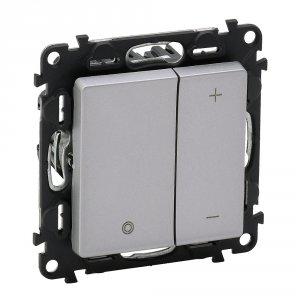 Фото Светорегулятор кнопочный 3-400Вт, LED 3-75Вт