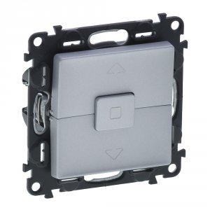Фото Механизм управления приводами с блокировкой двухклавишный однотактный (кнопка) 10 А, 250 В~