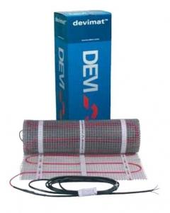 Фото Нагревательные маты двухжильные экранированные с тефлоновой изоляцией DEVImat 150T (DTIF-150)