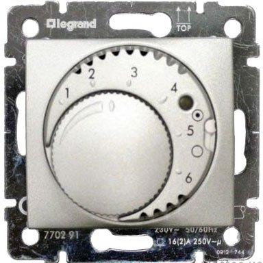 Терморегулятор для систем Теплый пол алюминий Valena
