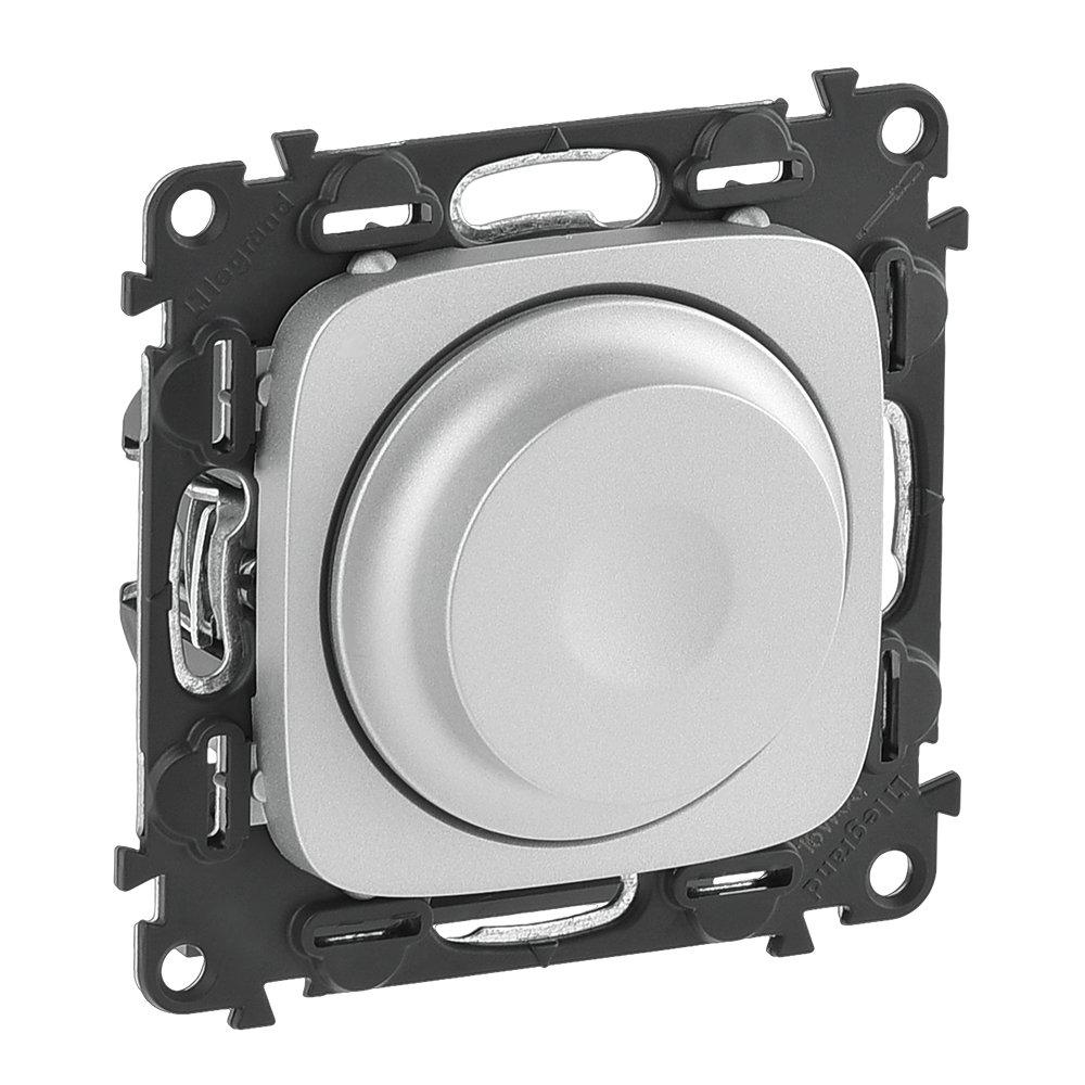 Светорегулятор поворотный алюминий Valena Allure