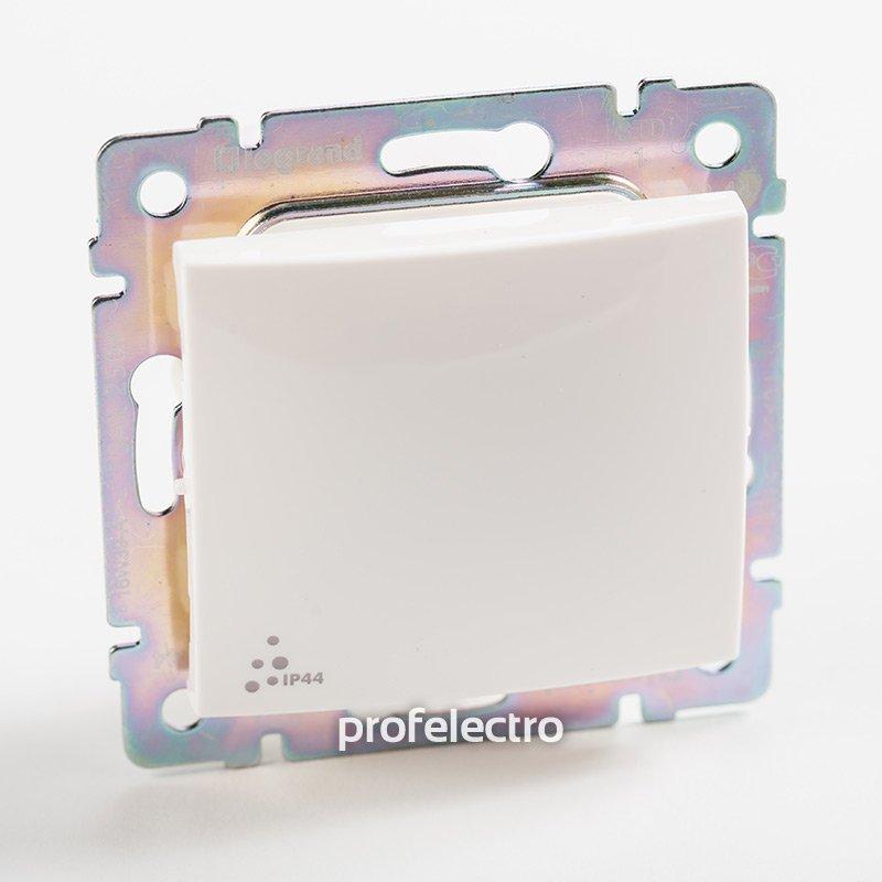 Фото Выключатель одноклавишный проходной (универсальный), влагозащищенный (IP44) 10 А, 250 В~ Valena Legrand