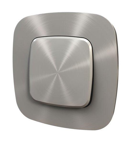 Рамки цвет полированная сталь 1-5 постов Valena Allure