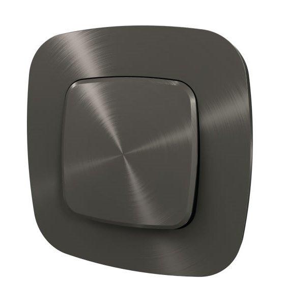 Рамки цвет черная сталь 1-5 постов Valena Allure