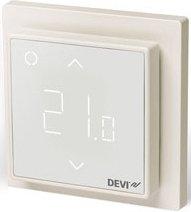 Фото Терморегулятор с сенсорным дисплеем, интеллектуальным таймером и возможностью подключения к сети Wi-Fi DEVIreg™ Smart