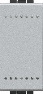 Фото Выключатель одноклавишный 1 модуль, 16 А, 250 В~, винтовые клеммы