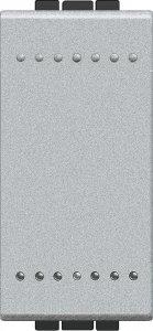 Фото Выключатель одноклавишный проходной (универсальный) 1 модуль, 16 А, 250 В~, винтовые клеммы