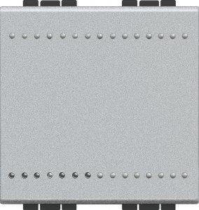 Фото Выключатель одноклавишный проходной (универсальный) 2 модуля, 16 А, 250 В~, автоматические клеммы